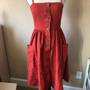 Forever21 Linen Dress